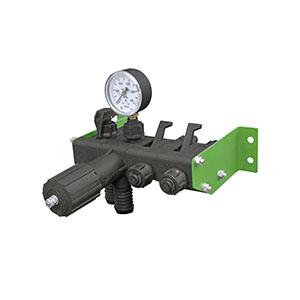 Регулятор давления 2 секционный с манометром 1,0 МПа