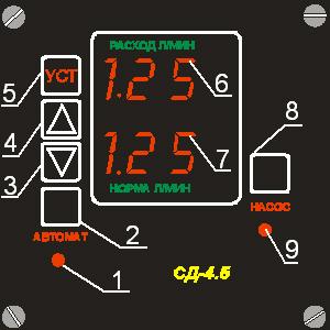 Компьютер управления для СД 4,5