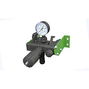 Регулятор давления 1 секционный с манометром 0,1МПа